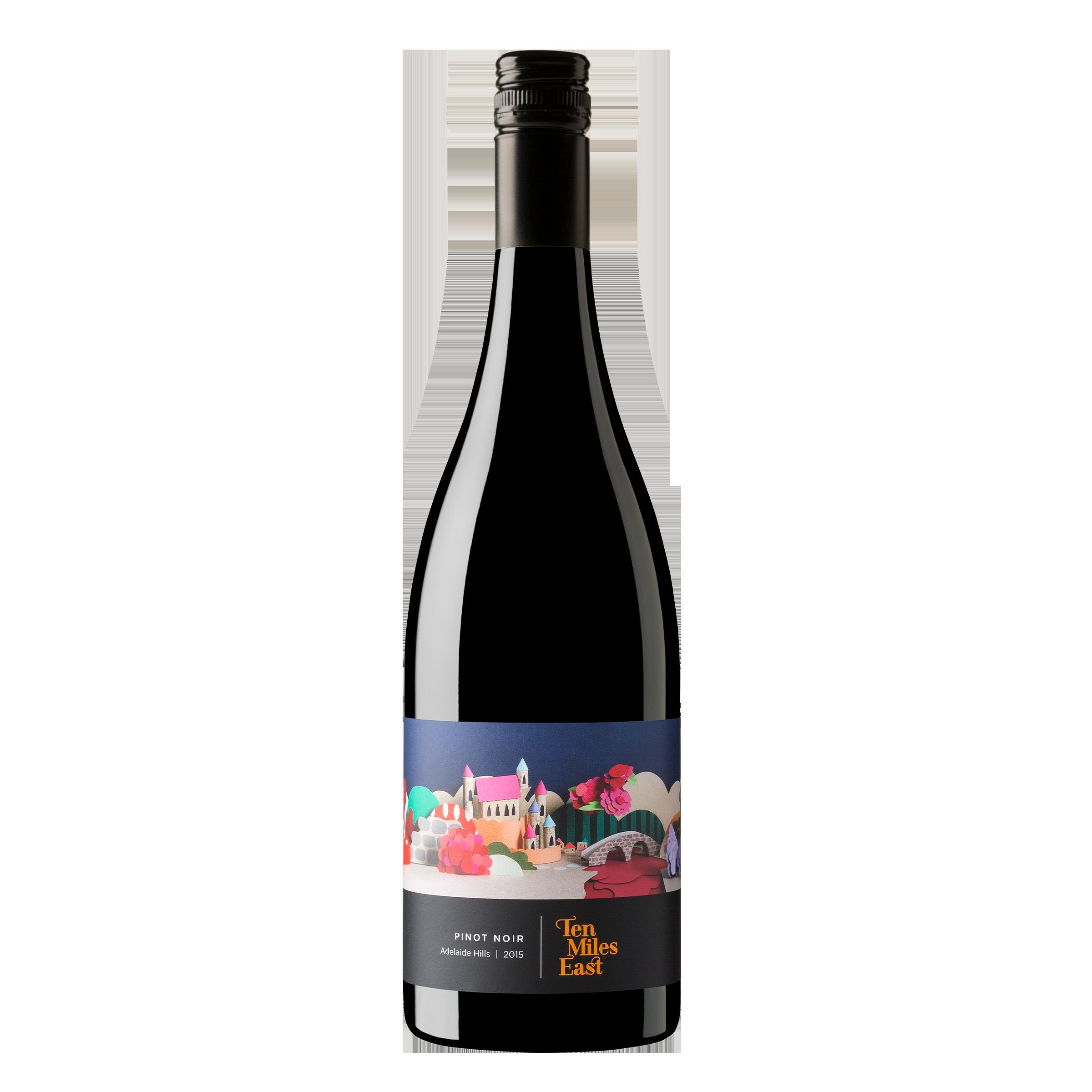 Ten Miles East Pinot Noir 750ml 2017