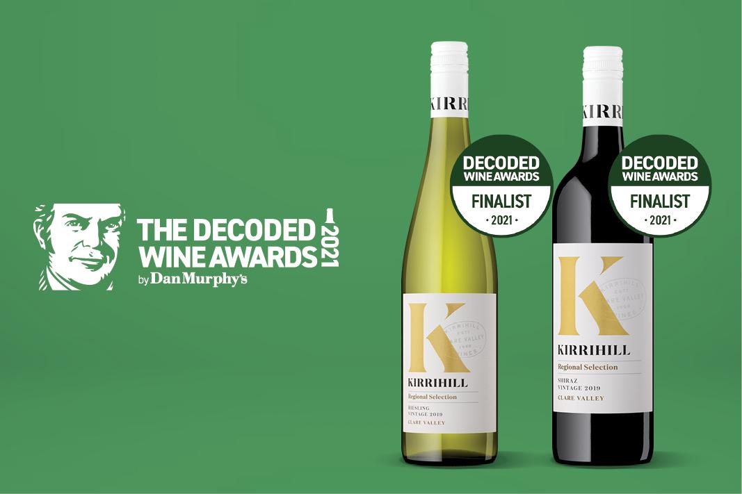 Kirrihill Finalists 2021 Decoded Wine Awards