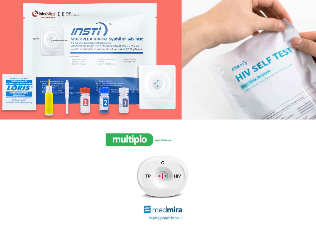 Biolytical INSTI HIV self test kit