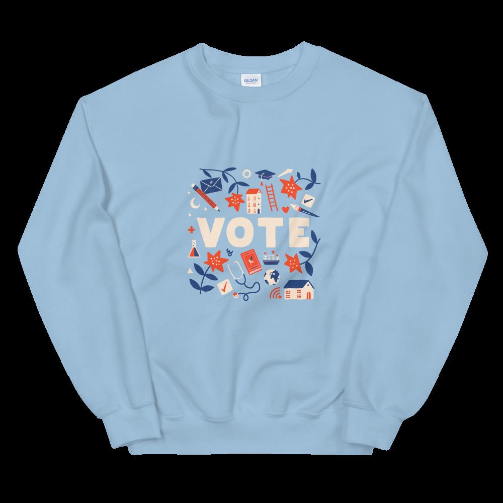 Vote and Be Heard Unisex Sweatshirt