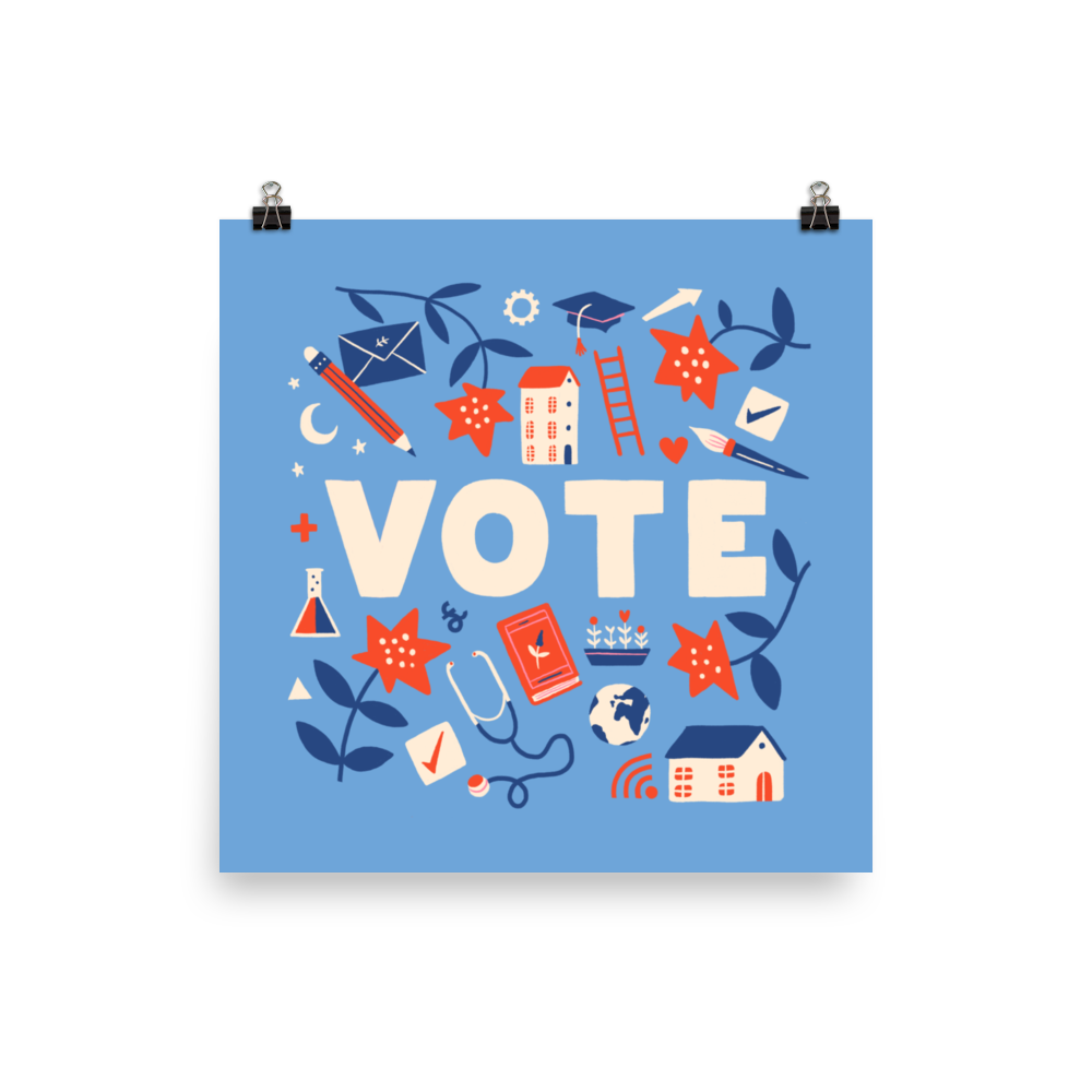 Vote and Be Heard Poster