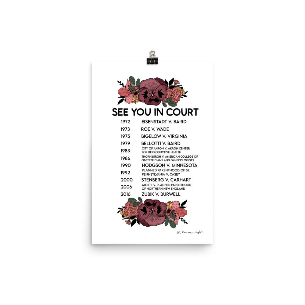 See You in Court Poster