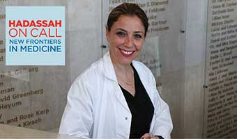 Timing Is Everything for Hadassah's Director of Obstetrics and Gynecology