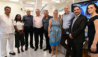 First Cath Lab Opens in Northern Neighborhoods of Jerusalem at Hadassah Mount Scopus