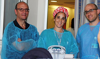 Hadassah Saves Mom and Delivers Her Baby in the Intensive Care Unit