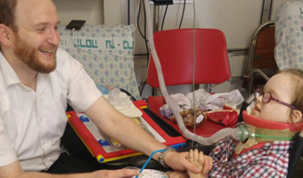 Hadassah Multidisciplinary Team Restores Little Girl's Hands and Legs