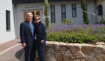 Nancy Falchuk Enrichment Center Dedicated at Meir Shfeyah Youth Village