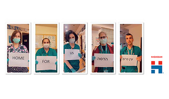 COVID-19 Nursing Care Leads to Collaborative Research by Hadassah Nurses