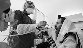 A Poignant Look Inside COVID-19 Unit at Hadassah Hospital