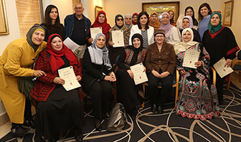 Arab-Sector Grads Mark Completion of Hadassah Healthy Lifestyle Leadership Course