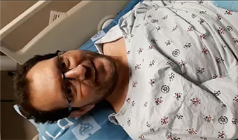 Survivor of Terror Attack and Father of Nine Donates a Kidney