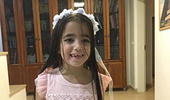 "Tiny Terror Victim, Saved by Hadassah, Returns to Pediatrics to ""Pay it Forward"""