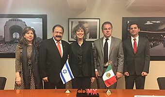 Mexican Health Secretary Praises Help Received from Israel and Hadassah Expert Post Earthquakes