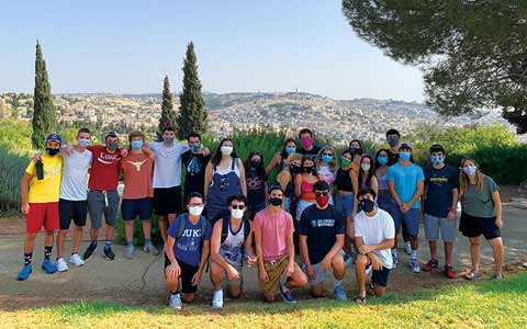 Making Friends in Lockdown, Young Judaeans in Israel Thrive