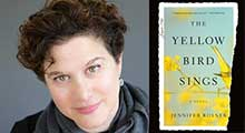 Jennifer Rosner, author of The Yellow Bird Sings