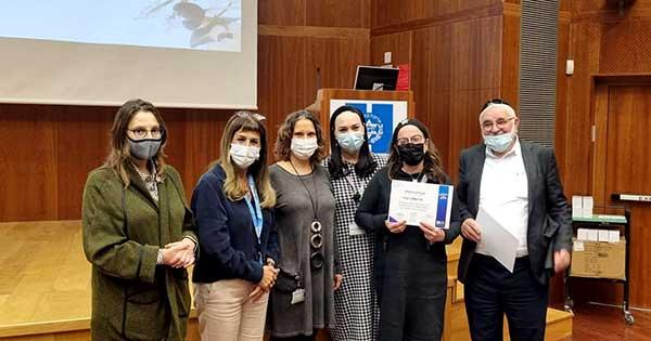 Hadassah Honors COVID-19 Outbreak Unit Volunteers