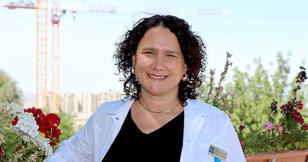 From the Summit of Hadassah Hospital Mt. Scopus: Dr. Tamar Elram