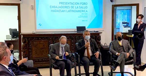 Latin America Ambassadors to Israel and HI Launch Health Forum