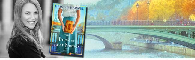 Live with Kristin Harmel and The Book of Lost Names