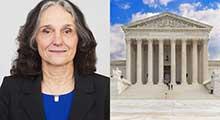 Conversation with former Supreme Court Marshal Pamela Talkin