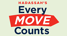 Hadassah's Every Move Counts