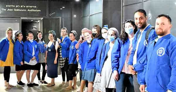 Twenty Nurses Begin Careers at Hadassah