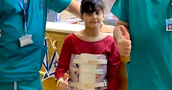Hadassah Discovers Rare Lethal Tumor on Nine-Year-Old's Spine