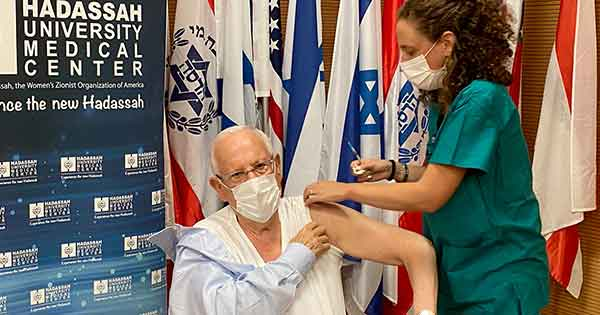 Israel Begins Administering COVID-19 Vaccine Booster