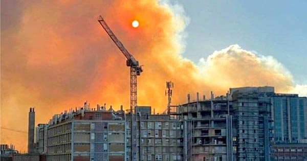 Hadassah Increases Capacity for COVID-19 Patients Despite Nearby Fires
