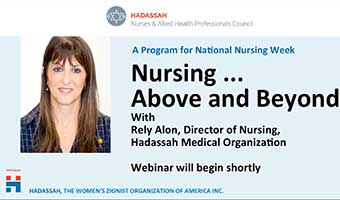 Nursing, Above and Beyond with Rely Alon