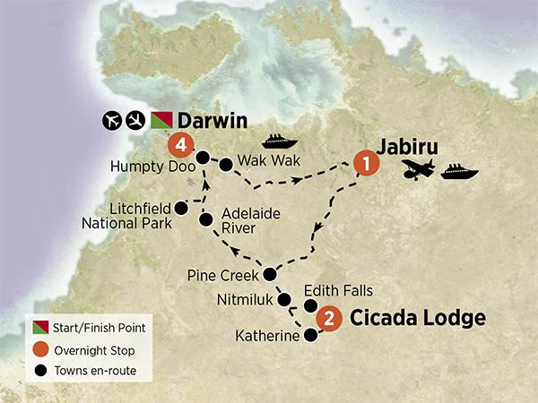 Darwin, Kakadu & Katherine Gorge