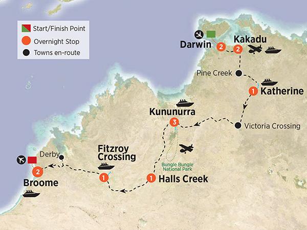 Darwin, Kakadu, The Kimberley & Broome