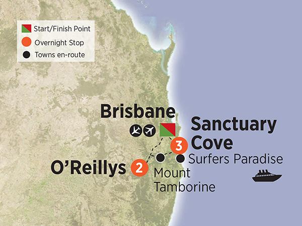 Gold Coast Glamour & O'Reilly's Rainforest Retreat