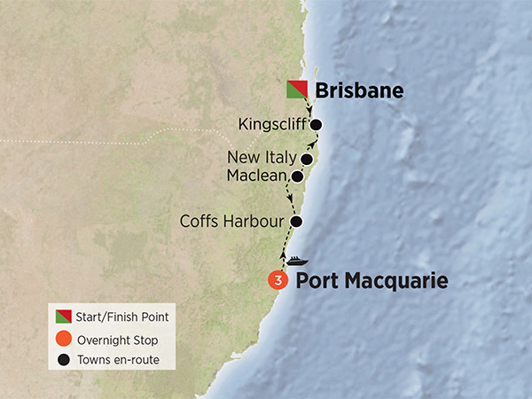 Green Getaway to Port Macquarie