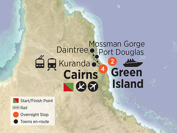Tropical Cairns and Green Island Getaway