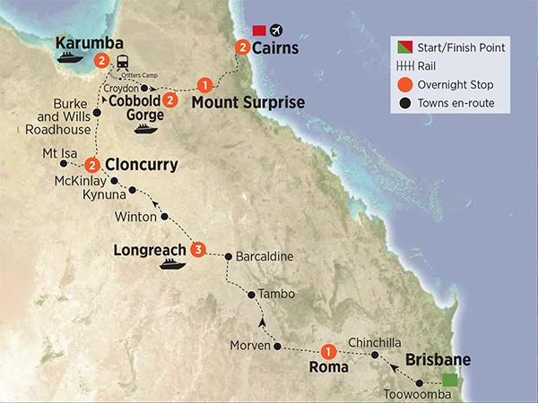 Outback Queensland Gulf & Savannah Trail