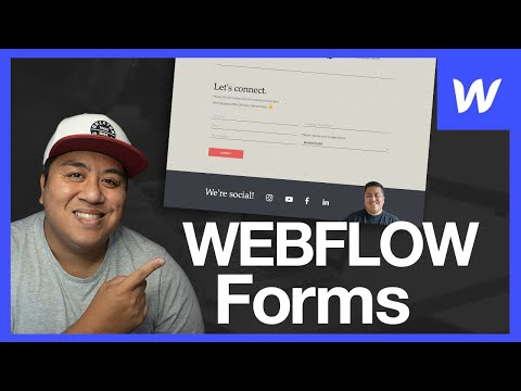 How to Create a Form - Webflow Wednesday