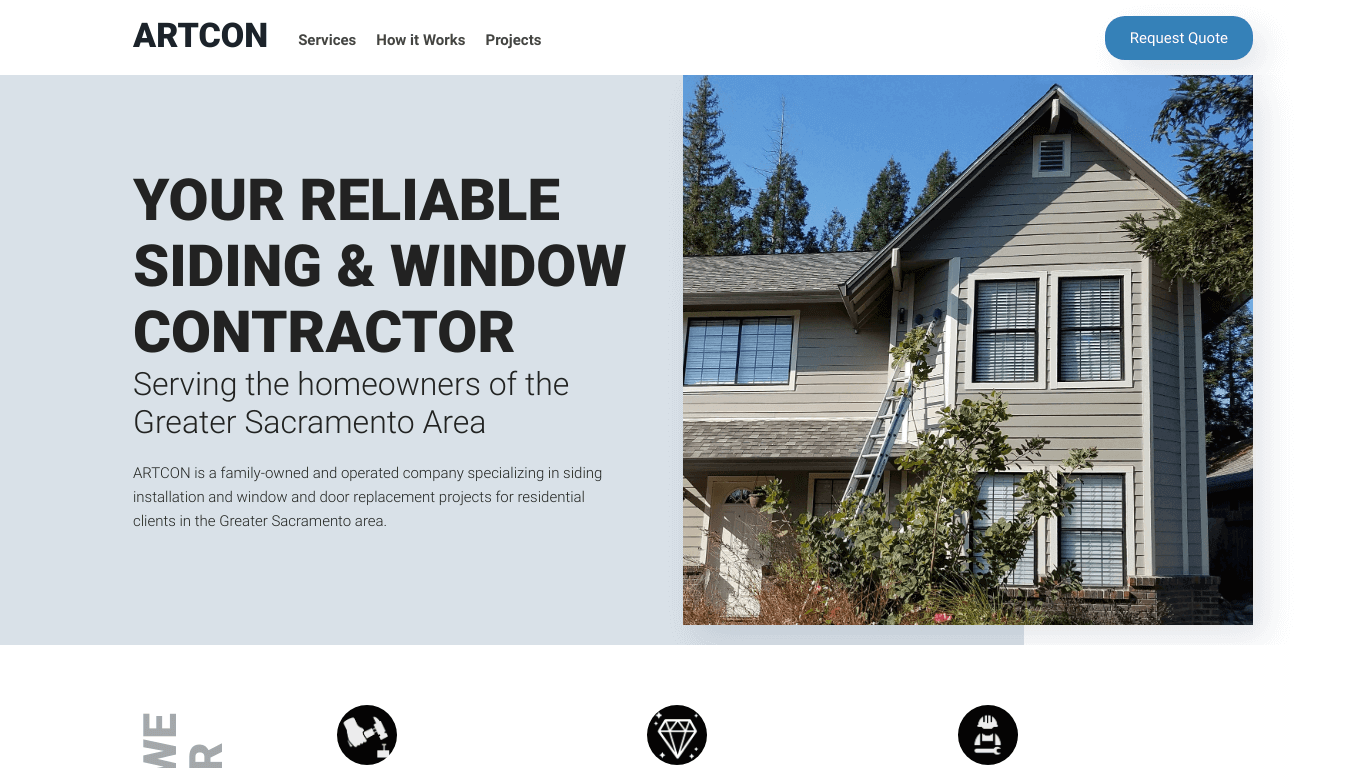 Artcon - New windows and siding for your home.