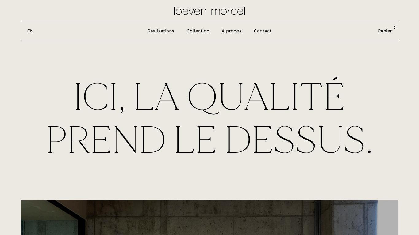 Loeven Morcel - Ébénisterie architecturale