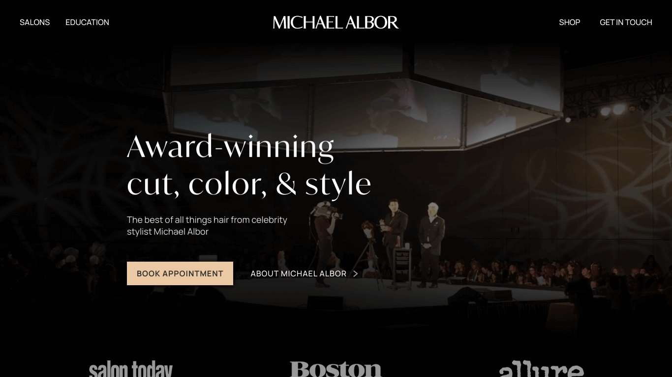 Michael Albor – Award-Winning Cut, Color, &Style from Boston's Premiere Stylists