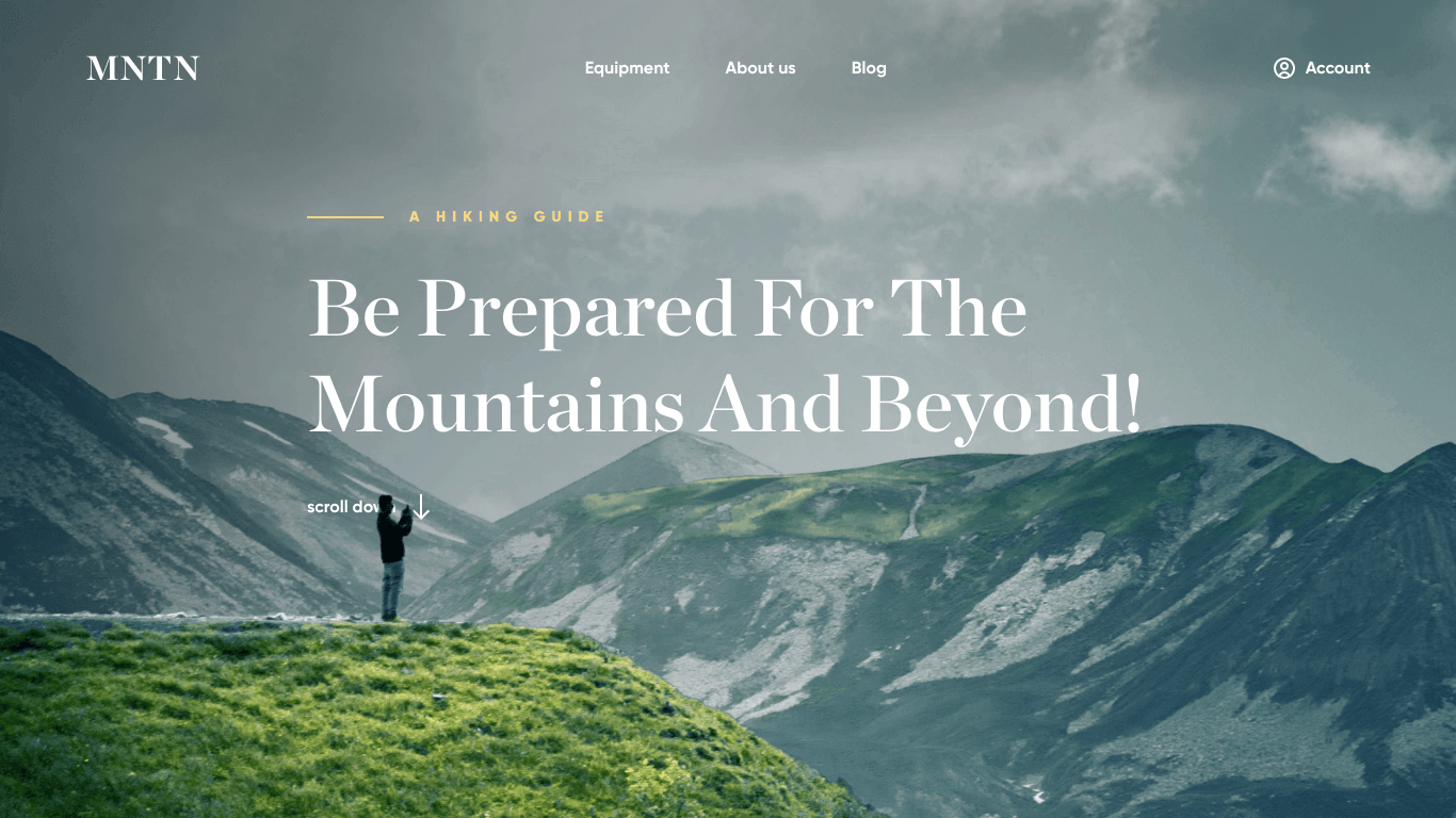 MNTN | Landing Page