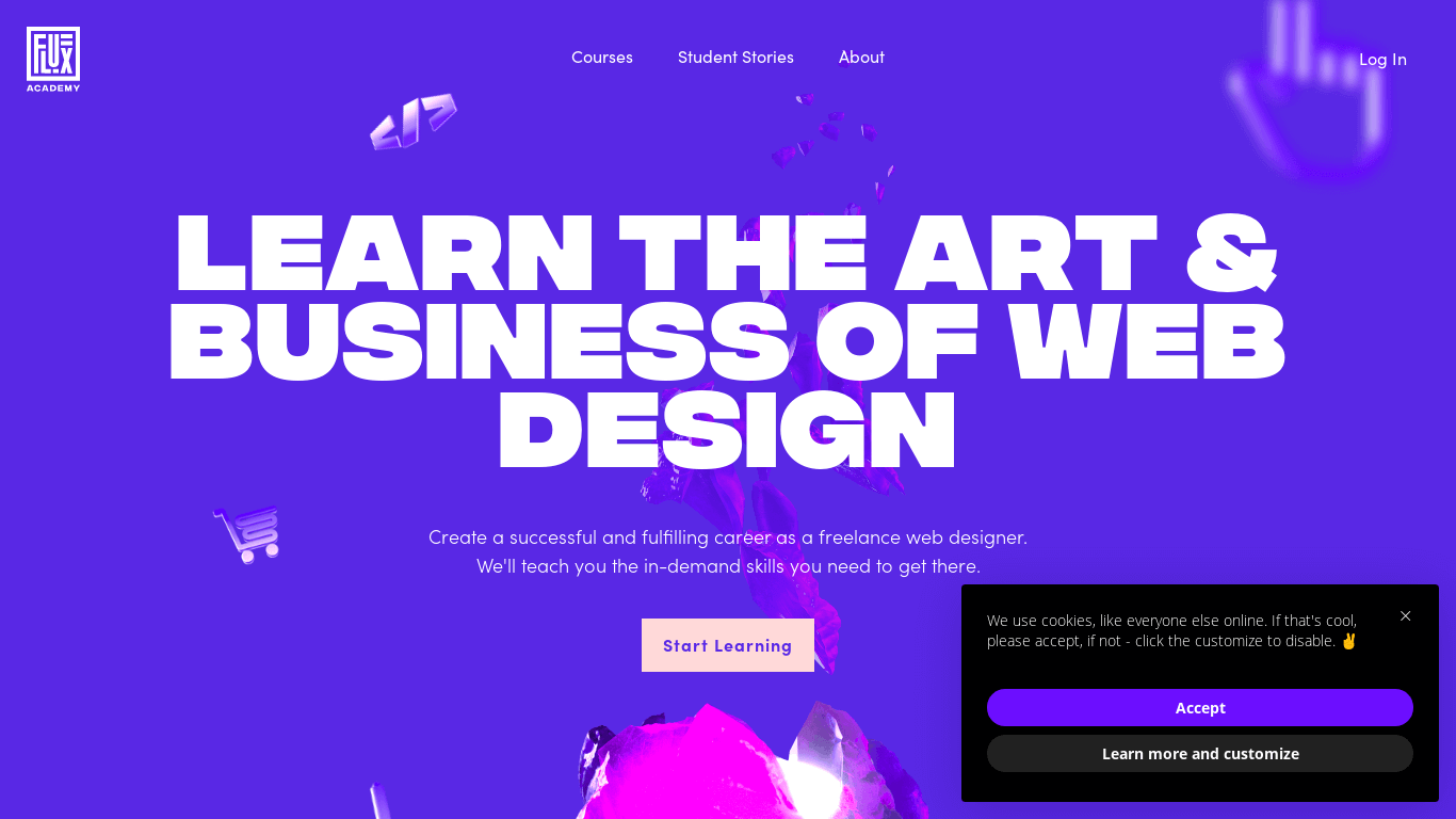 Flux Academy - Learn How To Become a Web Designer