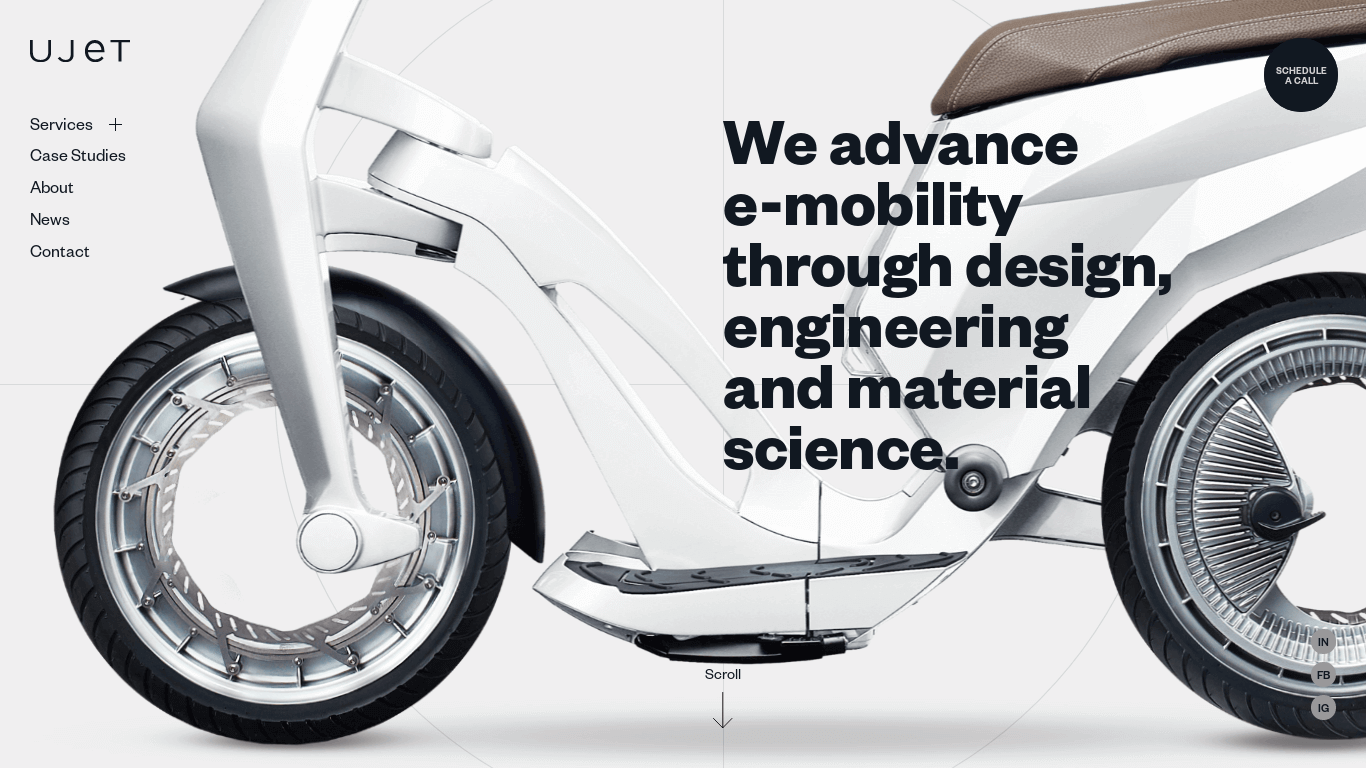 Ujet - From material science to ultimate e-mobility products