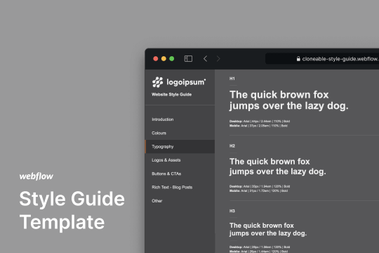 style-guide-template-cloneable - Webflow