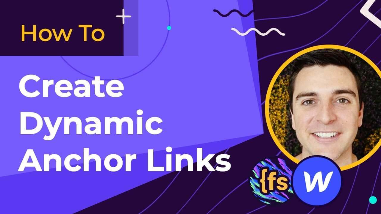 Create Dynamic Anchor Links - How To - CMS Library for Webflow