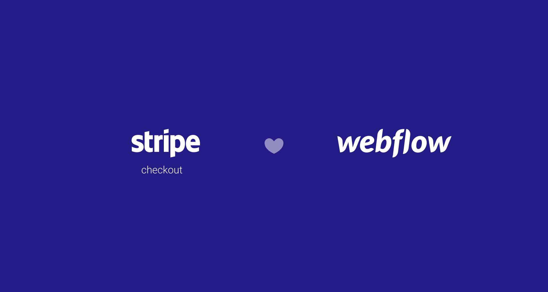 Adding Stripe Checkout to your Webflow site