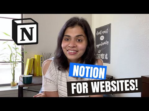 The easiest website builder: Notion!