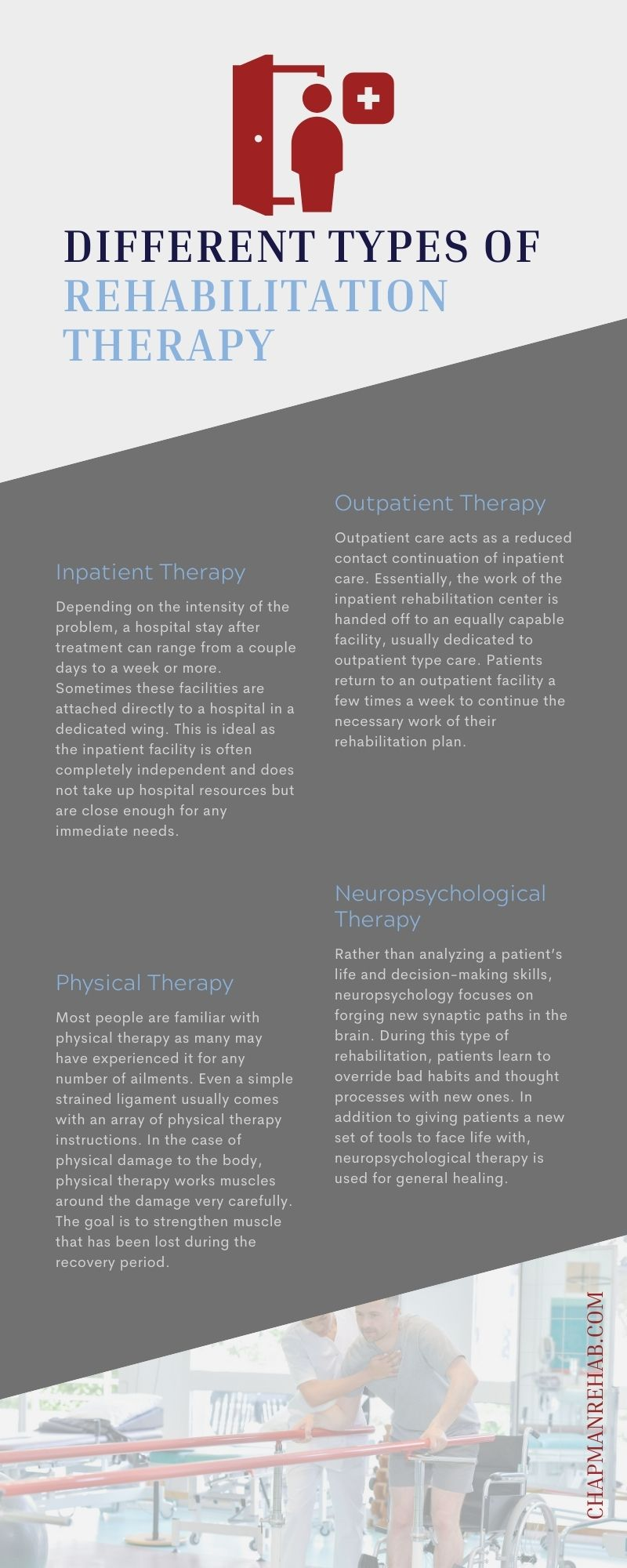 Different Types of Rehabilitation Therapy