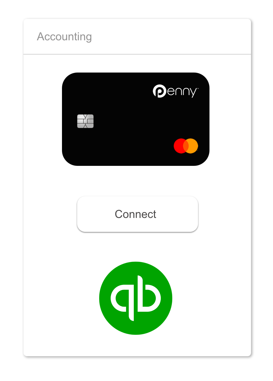 Automatic integration penny master cards or penny virtual cards