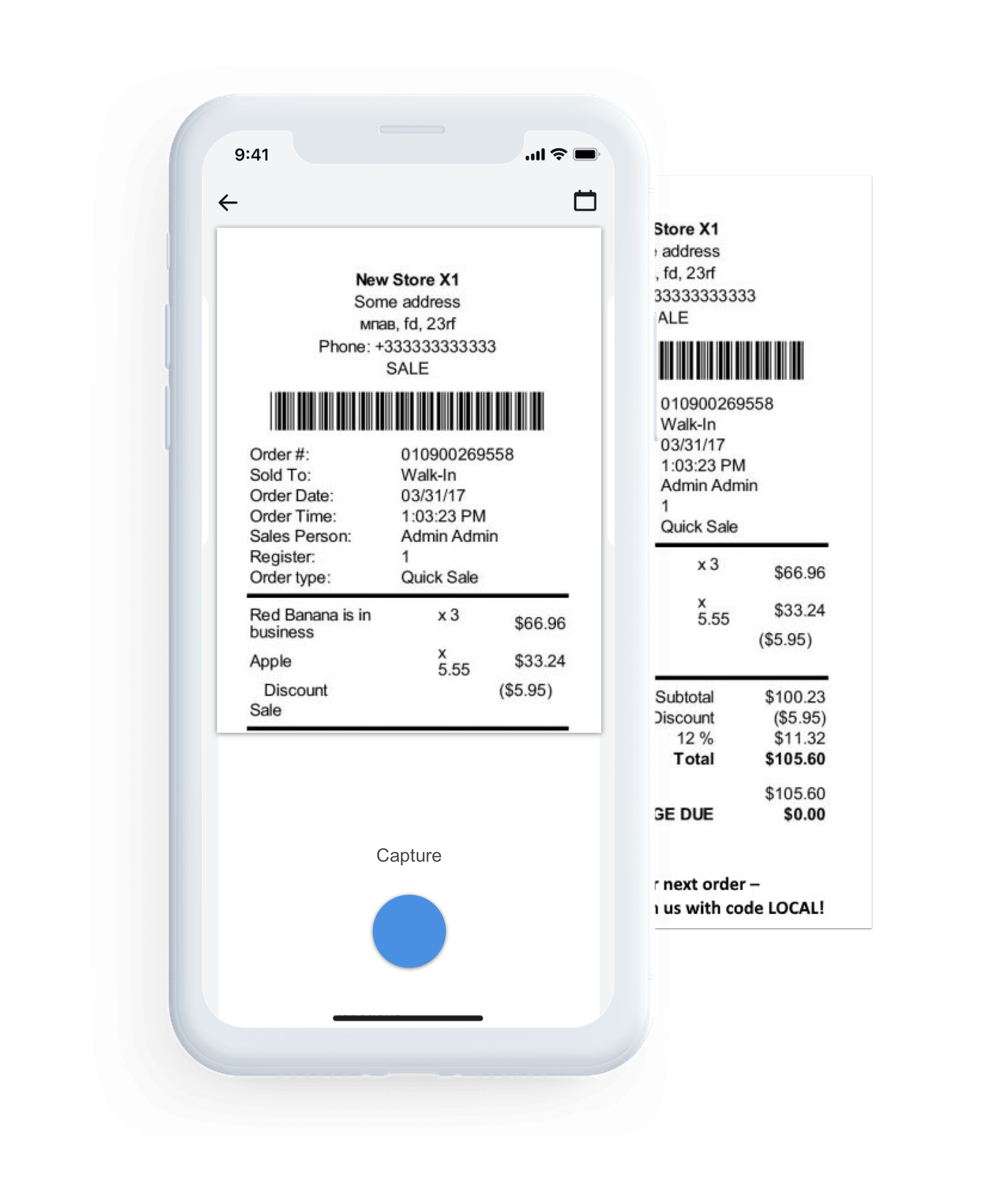 no more issues like lost receipts